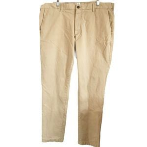 Gap Slim Stretch Iconic Khaki Pants Size 40X32